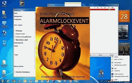 AlarmClockEvent Screen shot
