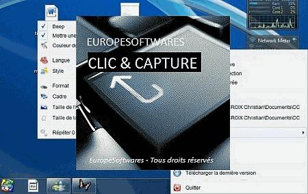 Clic & Capture Screen shot