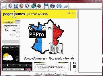 Utility for french white pages